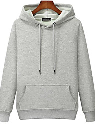 cheap -men's zip up hoodie 100% pure cashmere long sleeve full zip down pullover with pockets (heather grey, medium)