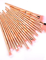 cheap -New 20 Pcs diamond handle makeup brush set dazzle color gradient eye makeup brush eye shadow brush beauty tools