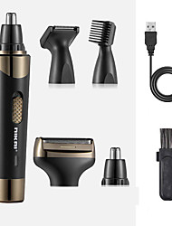 cheap -Electric Hair Clipper Multifunctional Rechargeable Nose Hair Device Lettering Body Hair Repair Razor Set Digital Display Electric Clipper Set