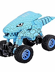cheap -dinosaur toy car for 2 3 4 5 6 years old boys dino pull back vehicles for kids and toddlers double power no need battery monster truck