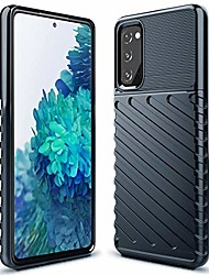 cheap -galaxy s20 fe case samsung s20 fe case shock absorption anti scratch heavy duty durable drop protection cell phone cover for samsung galaxy s20 fan edition 5g(lt blue)