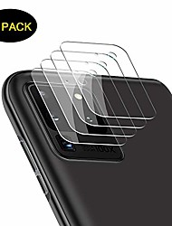cheap -(4 pack) galaxy s20 ultra lens protector clear ultra thin high definition 9h tempered glass transparent camera lens protective film for samsung galaxy s20 ultra 6.9 inch 2020-clear