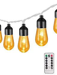 cheap -3M 20LEDs 13Keys Remote Controller  Retro Bulb Acrylic Bulb Light String Garden Light Christmas Party Decoration Light Wedding Fairytale World  Dimming Timing Function New Design Romantic USB 1 set