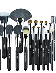 cheap -JAF 20 Pcs Makeup Brushes Set J2001PY-B makeup brushes with wooden handle animal hair makeup brushes
