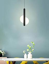 cheap -1-Light 5 cm Pendant Light Metal Black LED / Modern 110-120V / 220-240V
