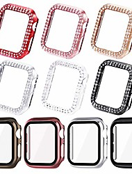 cheap -Bling cases compatible for apple watch 44mm, 42mm 40mm 38mmprotective bumper for iwatch se series 6 5 4 3 2 1 ( 10 cases in total)