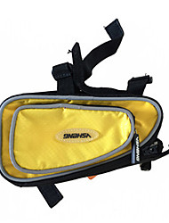 cheap -1.5 L Bike Frame Bag Top Tube Waterproof Portable Quick Dry Bike Bag Polyester Bicycle Bag Cycle Bag Cycling Outdoor Exercise