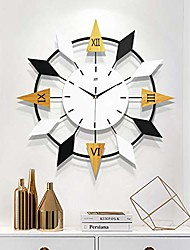 cheap -retro large decorative wall clock, igital hanging wall watches centurion roman numeral hands, vintage industrial rustic farmhouse style modern home decor ideal for living room,