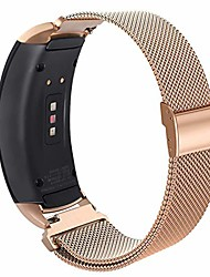 cheap -compatible gear fit2 pro/ fit2 band, metal stainless steel replacement accessories strap for samsung gear fit 2 pro sm-r365/sm-r360 smartwatch(rose gold, large)
