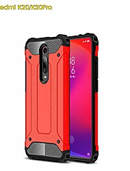 cheap -xiaomi mi 9t /mi 9t pro case, tpu +pc iron armor shockproof designed case,full body dual layer rugged cover for xiaomi mi 9t /mi 9t pro case (red)