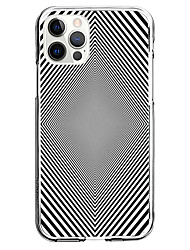 cheap -3D Optical Illusion Graphic Phone Case For Apple iPhone 12 iPhone 11 iPhone 12 Pro Max Unique Design Protective Case Shockproof Clear Back Cover TPU