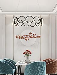cheap -52cm LED Pendant Light Island Light Simple Modern Luxury Acrylic Chandelier Creativity Nordic Led Living Room Duplex Staircase Bedroom Dining Room Study Chandelier Christmas decoration