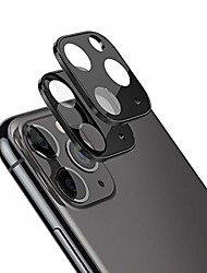 cheap -redluckstar iphone 11 pro/pro max camera lens protector, tempered glass+metal frame hd clear anti-scratch anti-fingerprint camera cover accessories for apple iphone 11 pro/pro max (black, 2 pack)