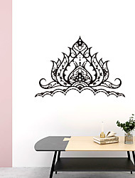 cheap -Creative Personality Flower Of Life Mandala Culture Yoga Home Background Decoration Can Be Removed Stickers 39*63CM