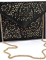 cheap -evening envelope pu leather shoulder bag messenger cross body handbag tote purse