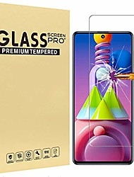 cheap -screen protector for samsung galaxy m51 tempered glass film [1 pc] high definition anti-scratch phone protective film for samsung galaxy m51 screen protector