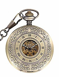cheap -pocket watch classic carved roman hollow automatic mechanical pocket watch flip vintage antique gift pocket watch for men women watches (color : gold, size : 4.7x1.5cm)