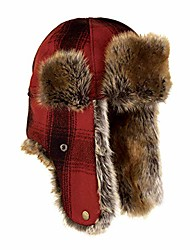cheap -northwoods trapper hat - insulated wool winter hat with ear flaps