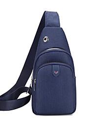cheap -Men's Bags Sling Shoulder Bag Chest Bag Daily Outdoor 2021 MessengerBag Black Blue Brown Gray