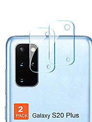 cheap -s20 plus camera protector,  hd clear 0.2mm ultra-thin,anti-scratch flexible tempered glass designed for samsung galaxy s20 plus / s20+ 5g camera lens (2 pack) (clear)