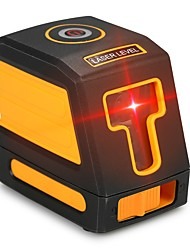 cheap -Self-Leveling 2 Lines Red Laser Level Professional Horizontal and Vertical Cross Line Leveling Laser Level Kit with Selectable Laser Lines and Vertical Beam Spread
