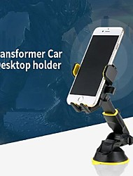 cheap -Remax RM-C26 Easy One Touch 4 Dash & Windshield Car Mount Phone Holder Desk Stand Pad & Mat for iPhone Samsung Moto Huawei Nokia LG etc All Smartphones 360 Free Expansion 2 in 1 Function