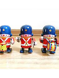 cheap -Robot Wind-up Toy Machine Robot Drum Set Metalic Iron Vintage 1 pcs Kid's Adults' Boys' Girls' Toy Gift
