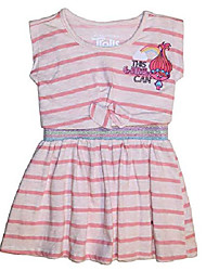 cheap -trolls this girl can toddler little girl dress (3t) pink