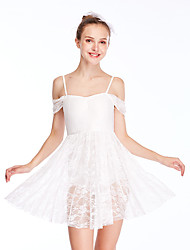cheap -Ballet Dress Lace Women's Training Performance Sleeveless High Elastane