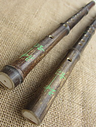 cheap -G/F Black Bamboo Vertical Flute Clarinet