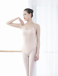 cheap -Ballet Leotard / Onesie Solid Women's Training Performance Sleeveless POLY