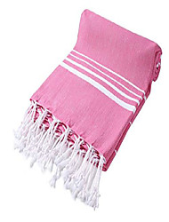 cheap -paradise series turkish bath towels – traditional peshtemal design for bathrooms, beach, sauna – 100% natural cotton, ultra-soft, fast-drying, absorbent – warm, rich colors with stripes pinky