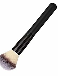 cheap -professional loose powder makeup brushes large coverage foundation blending blush cosmetic make up tool black