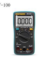 cheap -ZT-100  Digital Auto Range Portable Multimeter 6000 counts Backlight Ammeter Voltmeter Ohm English/Russian user manual