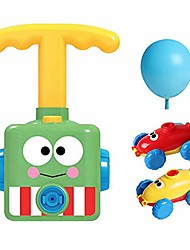 cheap -balloon powered car toy for kids, air pressure powered car children's science toy, inflatable stem balloon race car kit for boys girls toddlers
