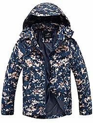 cheap -kstare men's waterproof ski jacket warm winter outdoor soft shell snow coat camouflage mountain sports windbreaker