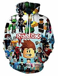 cheap -Kid's Child's Kids Child Outfits Cartoon Image Long Sleeve Hoodie & Sweatshirt As shown