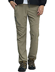 cheap -men's cycling quick drying outdoor stretch mountain camping sports pants with belt 2xl khaki