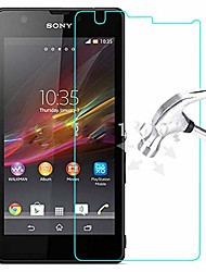 cheap -screen protector film (3 pcs) premium tempered glass film for sony xperia zr m36h c5502 c5503 lcd screen protector protective guard