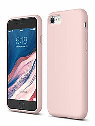 cheap -iphone se 2020 case, iphone 8 case, iphone 7 case, premium liquid silicone, protective 3 layer structure [lovely pink]