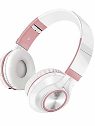 cheap -Headphones Foldable Noise Isolating On Ear Headphones Wired with Microphone and Volume Control Stereo Corded with Adjustable Headband for Computer Laptop and Cell Phone