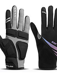 cheap -Winter Bike Gloves / Cycling Gloves Touch Gloves Waterproof Windproof Breathable Warm Full Finger Gloves Sports Gloves Black for Adults' Cycling / Bike Activity & Sports Gloves