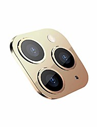 cheap -fundiscount compatible with iphone x/xs/10 camera lens screen protector tempered glass, seconds exchange to compatible with apple iphone 11 pro, 9h hardness back camera lens film cover skin (gold)