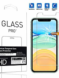 "cheap -[2 pack] compatible with iphone 11 screen protector  high definition anti-scratch waterproof cell phone protective film tempered glass for iphone 11 2019 6.1"" -2pcs"