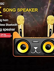cheap -SD305 Separated Speaker Family KTV Set Machine Outdoor Loudspeaker For Meeting Speech Party Stage Mic With Dual Bluetooth Microphones