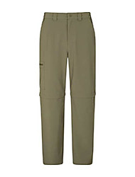 cheap -stride mens stretch short zip off trousers - lightweight winter pants, cosy hiking bottoms, fast dry, pockets - for camping, travelling, holidays light khaki mens w44