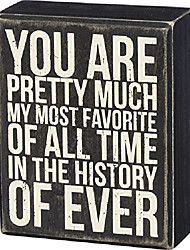 """cheap -35143 classic box sign, 4"""" x 5"""", my most favorite"""