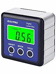 cheap -digital level box angle gauge protractor inclinometer bevel box with data hold, magnet base & lcd backlight, calculating for carpentry, building, masonry, automobile