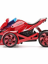 cheap -pull back car motorcycle toys, pull back vehicles racing cars launcher toy with music lighting, die-cast 2 in 1 catapult race trinity chariot gift for christmas brithday (red&black)