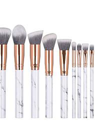 cheap -10 Pcs mixed makeup brushes beginner portable makeup brush tool set J1024-D